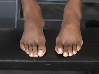 Hot feet...