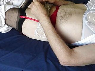 سکس گی Getting Ready striptease  small cock  hd videos gay wife (gay) crossdresser  bear  amateur