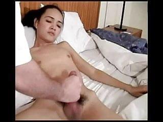 Shemale Cums Hard