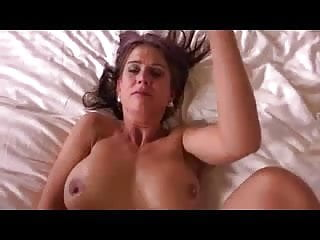 Busty milf and facial...