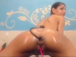 Inflatable Dildo Anal Play