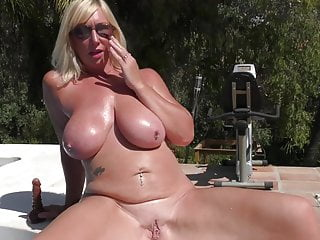 mature mother her pussy juicy feeding Busty