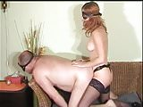 Red head Mistress strap-on