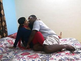 Indian lovely bhabhi desi husband in bedroom...