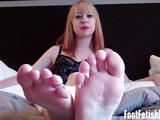Foot Fetish Masturbation Instruction Encouragement