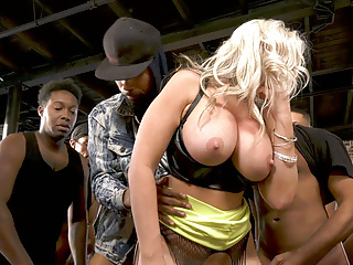 18 creampie after bbc gangbang alena croft...
