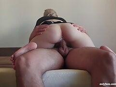 Perfect Dick Riding - Cowgirl Fucks a Big Dick and Cums