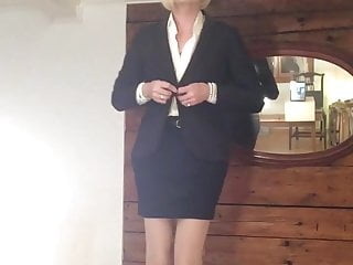 blond feminized slut
