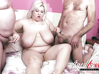 Matures AgedLovE Groupsex Three Two Cocks With and