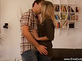 Blonde Lover Gets Really Passionate For Real