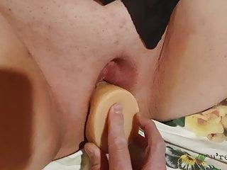 Curvy charlotte wife monster cock dildo...