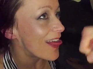 moglie sborrata in bocca