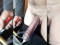 C ruising p ublic ypilets and pumping my horny wrt cock