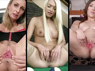 Babes spread their pussies split screen compilation by...