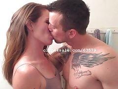 Ken and Bella Raven Kissing