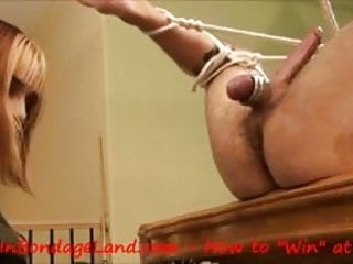 Slave Begs for Pegging - Strap-On FemDom Pool Table