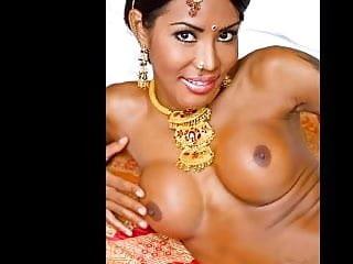 Exotic sexy tranny reveals the taste of india...
