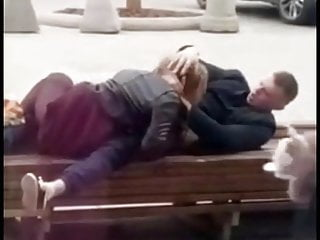 Lovers on the Public Benches