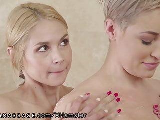 Sarah vandellas massage with busty ryan keely...