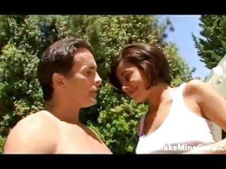 Vanessa Leon make a hot guy cum two times-1