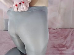 Older sister posing in pantyhose for you