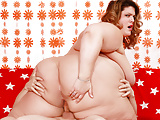SSBBW Erin Green Gets Railed by Her Tiny BF