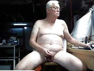 Grandpa his uncut cock...