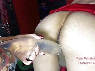 German Hausfrau sex fetish amateur anal dildo - Bild 9