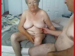 Granny and grandpa naked...
