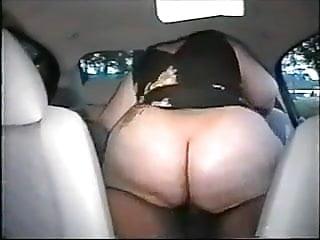 fucking bbw  in the car