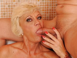 Bath Granny Stud Shaved Sizzling Shares Orhidea with