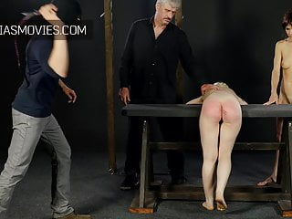 Very hard sole beating whipping...