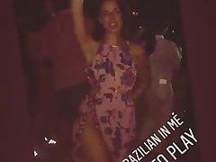 Kaya Scodelario partying