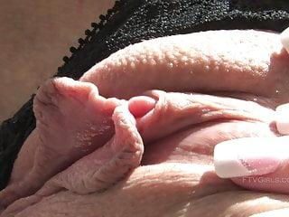 Ftv sabrina shows her clit up close...
