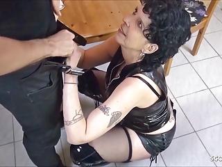 german step mom seduce son to fuck at kitchen when dad awayPorn Videos