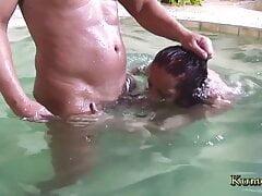 Kumalott – Busty Milf enjoys anal sex