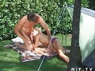 French amateur having...