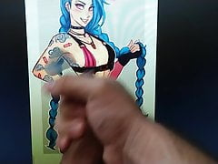 Jinx League of Legends - Cum Tribute #7