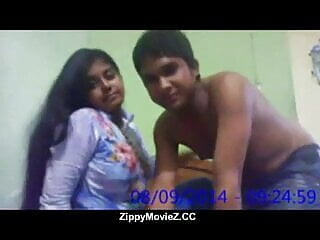 Kinky indian slut and horny dude get busy...