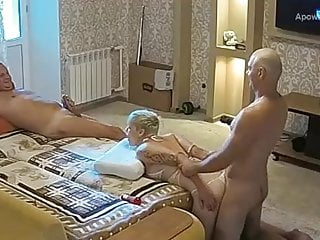 Russian fuck in front of the webcam teil 2