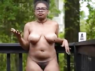 Nude black chick...