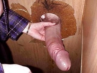 Blowing Horse Cock In The Gloryhole And Moaning