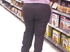 Busty Spandex Hood Phat Dark-hued In Scrubs Providing Her All...