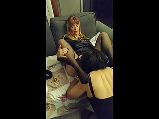 Damitille licking well her dear Mistress Paloma