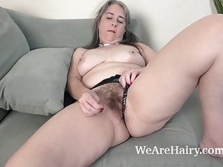 Jamie strips naked and touches her sexy body...