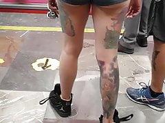 Punk muestra en el metro
