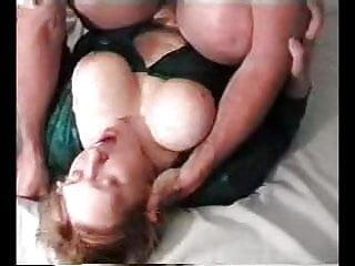 Chubby Big Tit Wife Facial