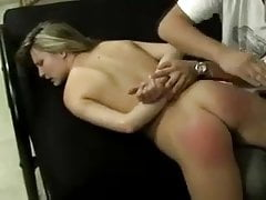 fresh natural blonde babe on the bed undressed and spankedPorn Videos