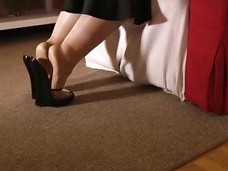 Masturbation Heels Reife High Reife Frauen