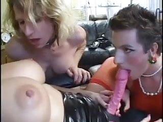 Blonde goddess with slave...